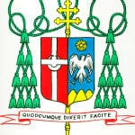 Coat of Arms for Archbishop Aquila